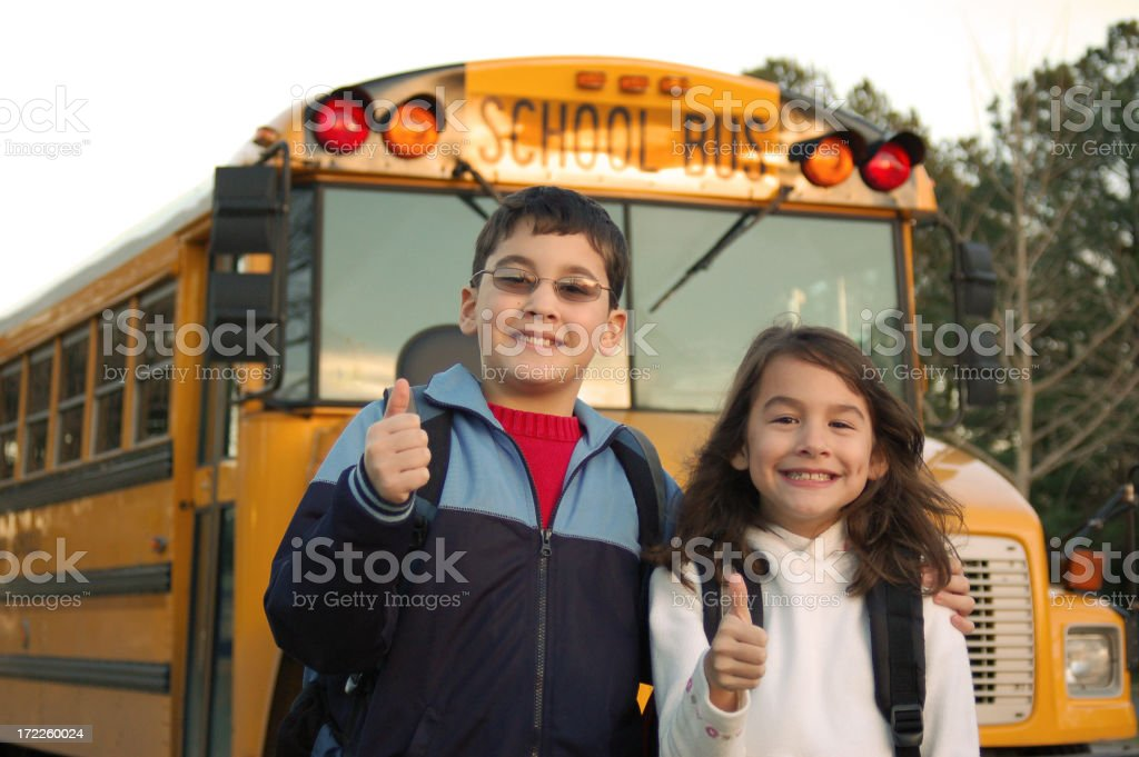Thumbs Up for School! royalty-free stock photo