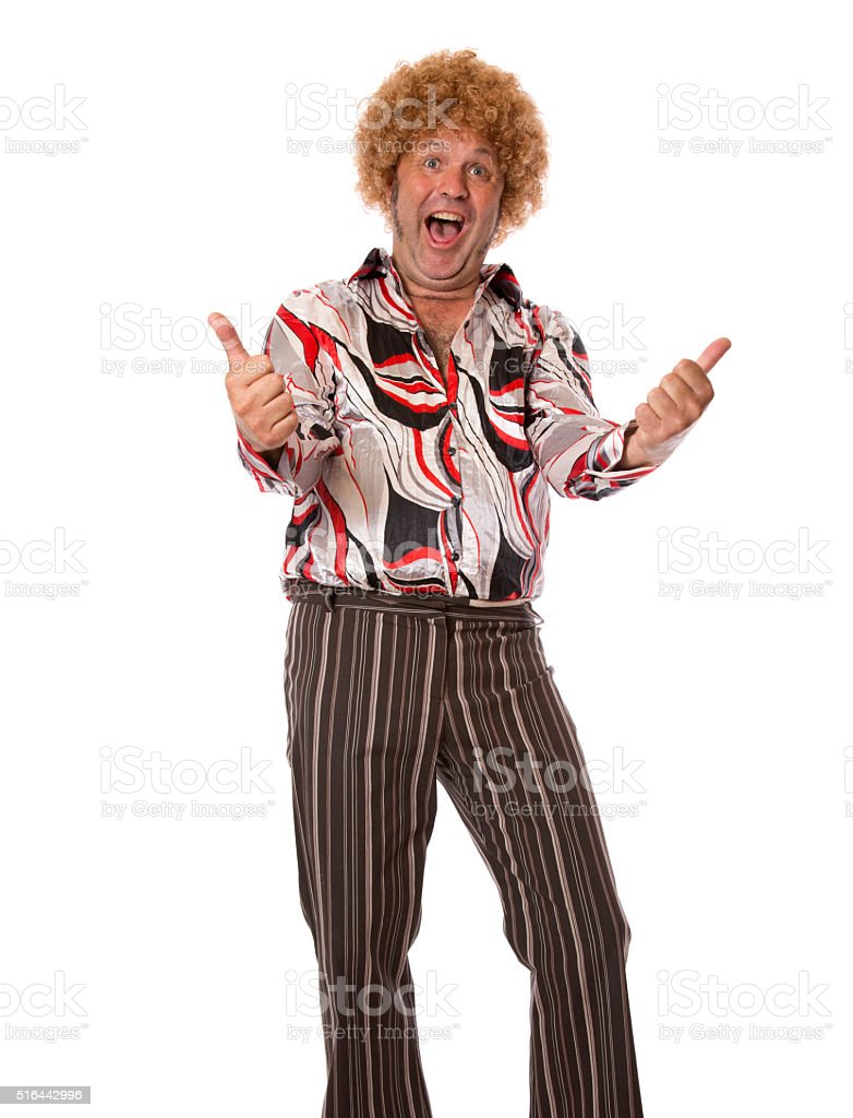 Thumbs Up Groovy stock photo