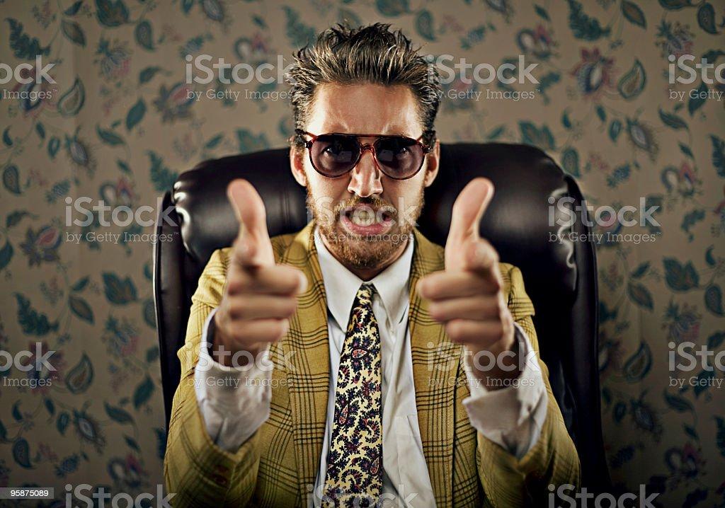 thumbs up guy stock photo