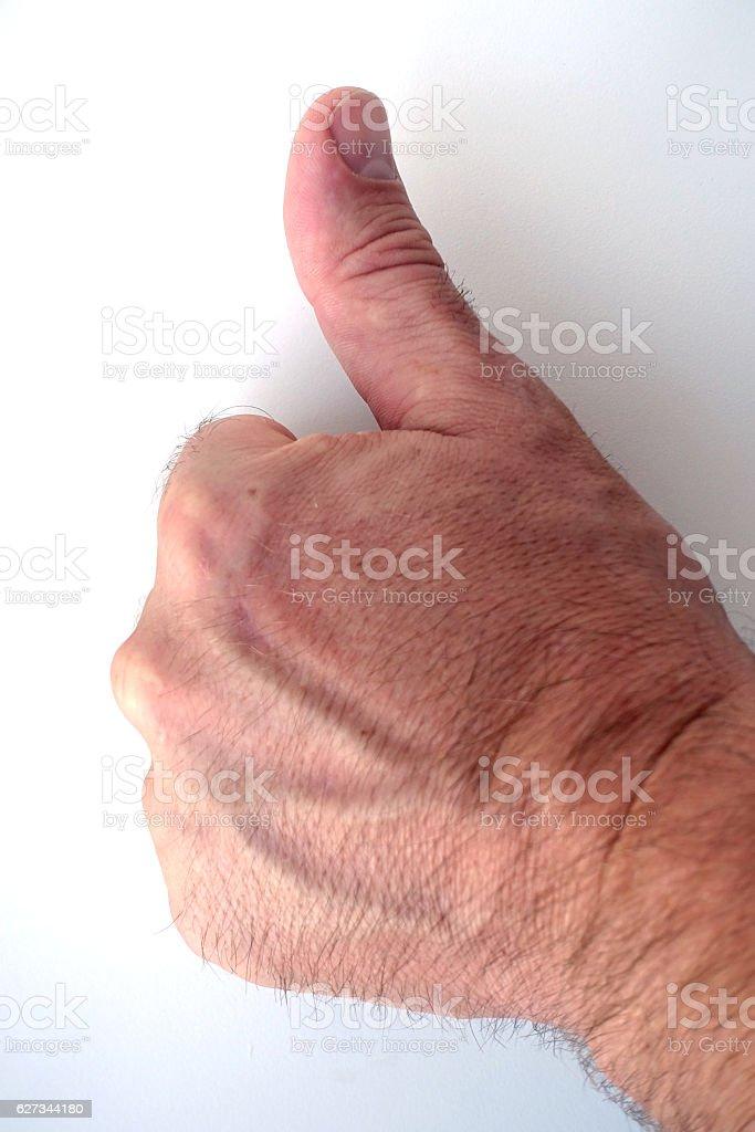 Thumbs Up, LIKE stock photo