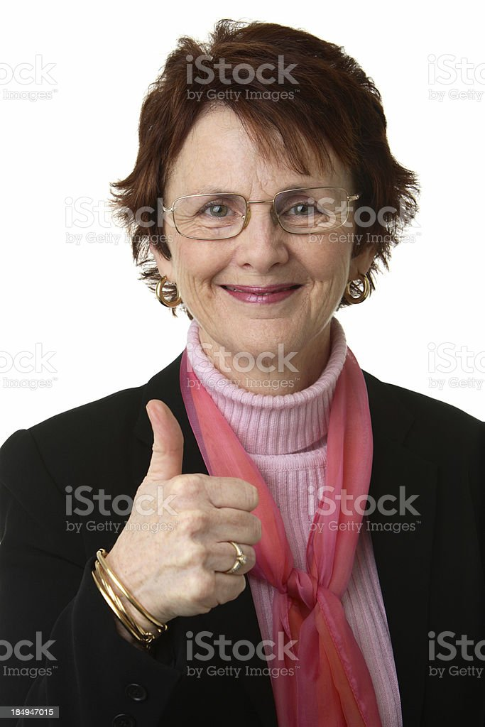 Thumbs up!! royalty-free stock photo