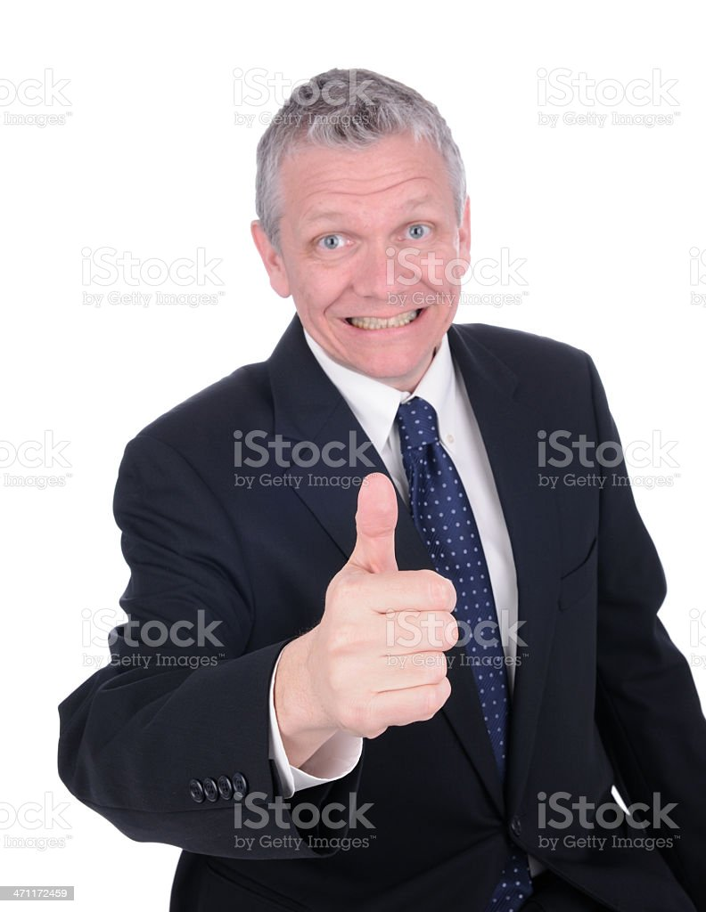 Thumbs Up! (XL) royalty-free stock photo