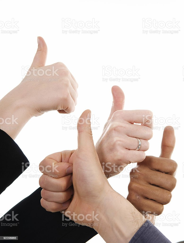 Thumbs Up! royalty-free stock photo