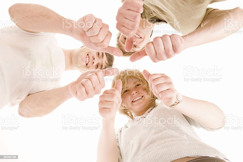 thumbs up royalty-free stock photo