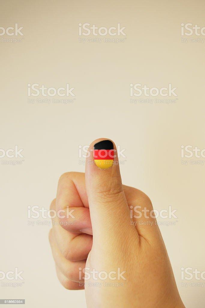 ThumbsUp:Germany stock photo