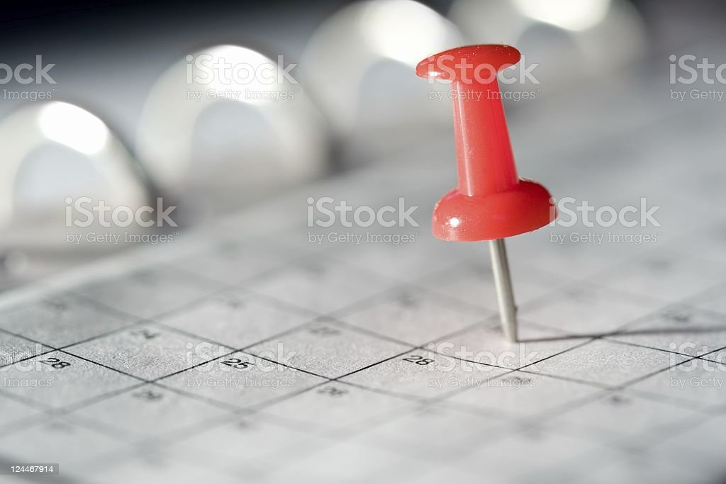 Thumbtack stock photo