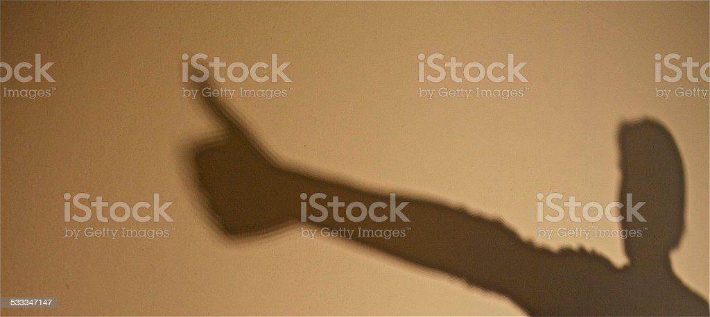 Thumb.Thumbs Up.Success.Excellent.Winning.Human Hand.Unrecognizable Person. stock photo