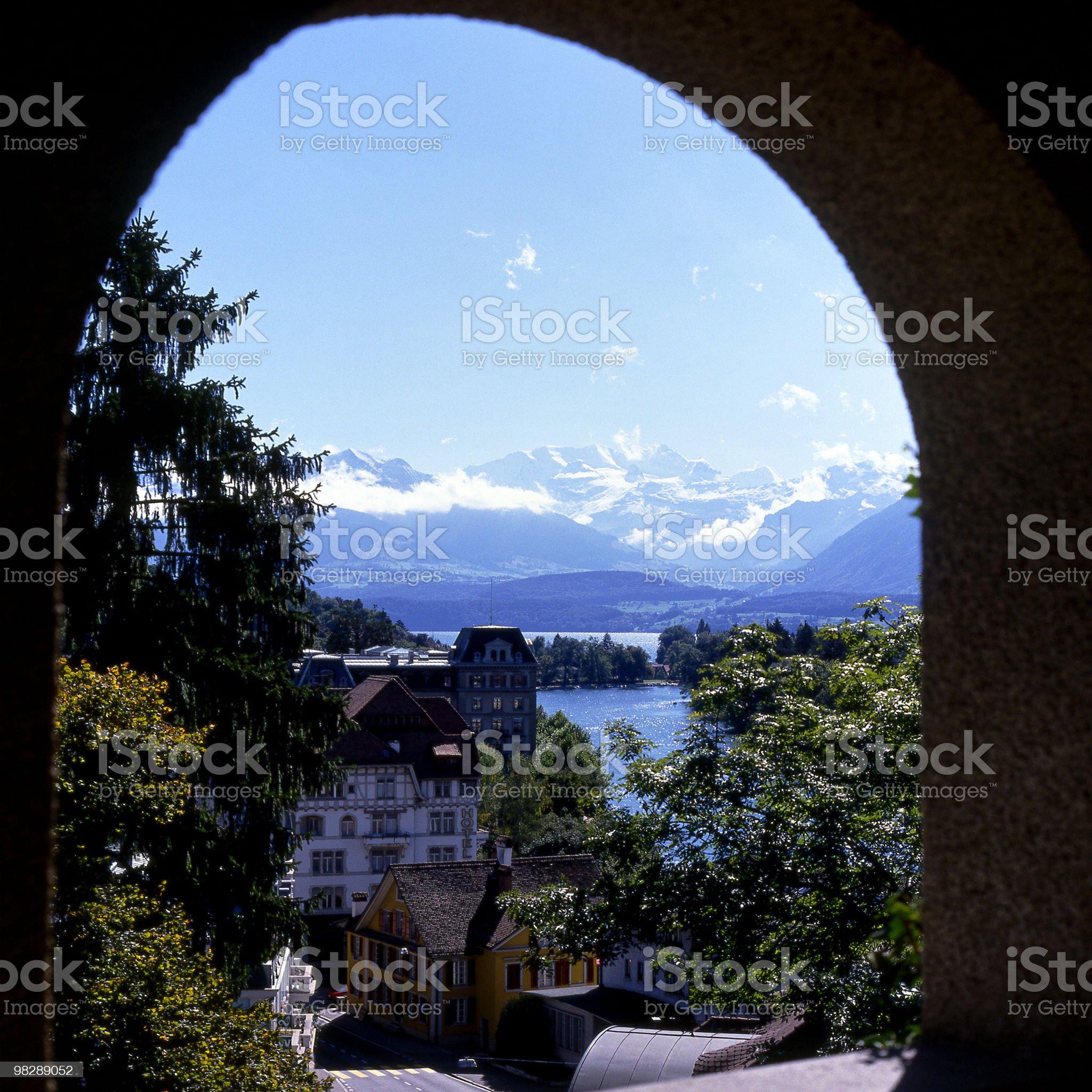 Thun, Bernese Oberland, Switzerland royalty-free stock photo