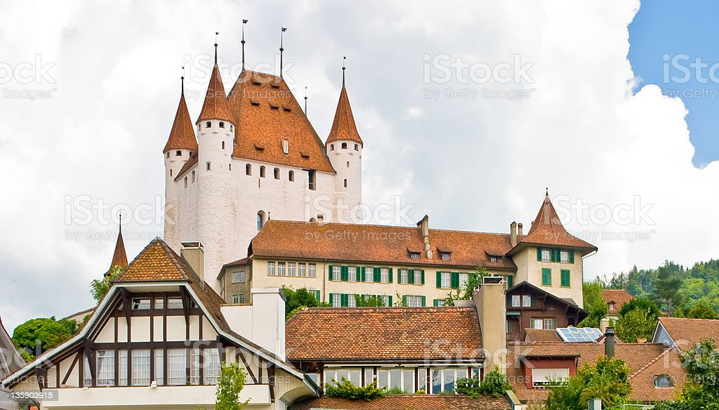 Thun Switzerland stock photo