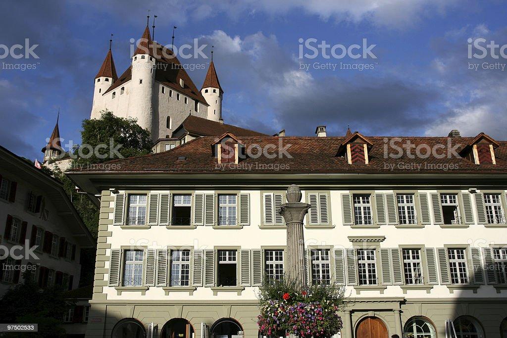 Thun, Switzerland stock photo