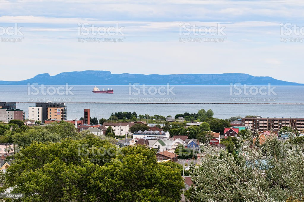 Thunder Bay, Ontario, Canada stock photo