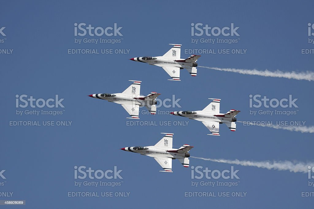 Thunderbird Diamond Formation royalty-free stock photo