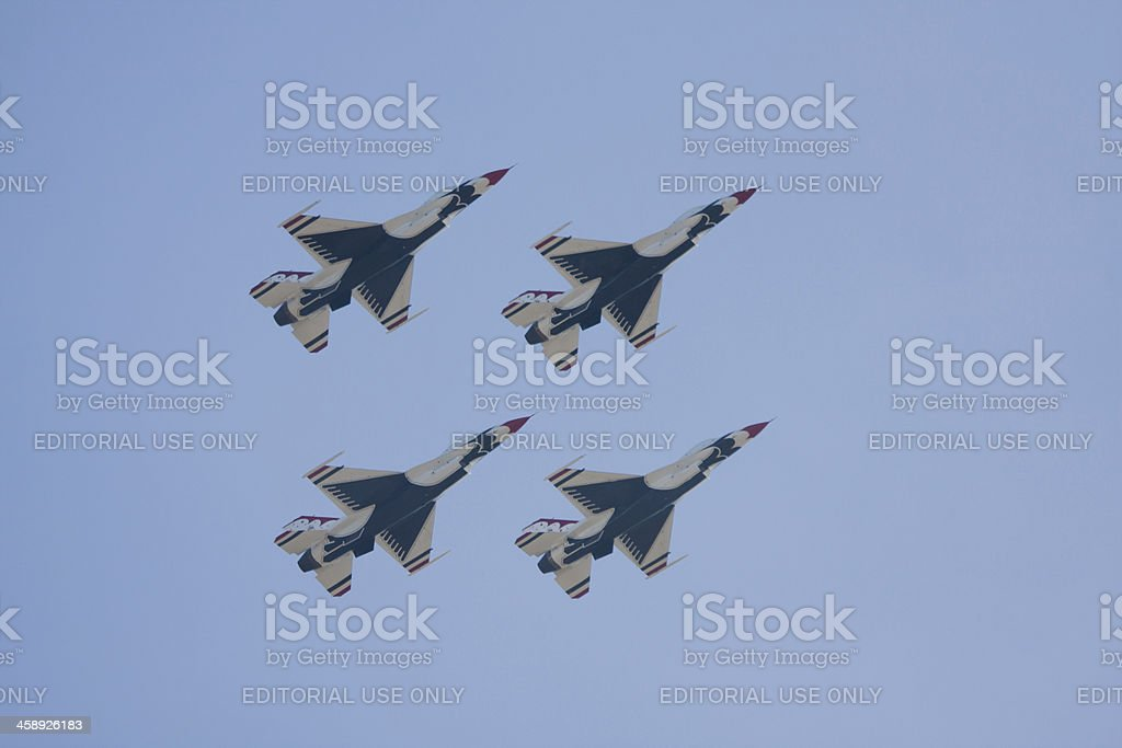 Thunderbird Foursome stock photo