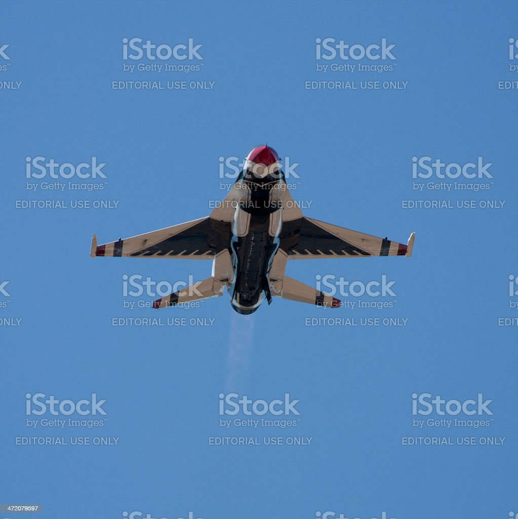 Thunderbird Head On stock photo