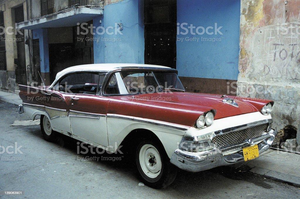 Thunderbird In Havana stock photo