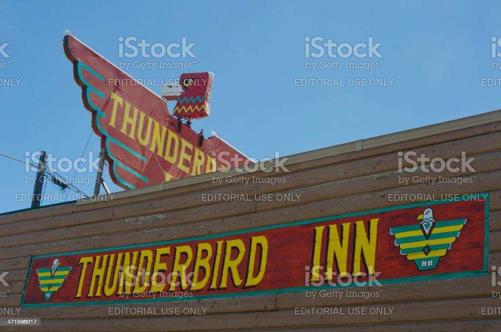 Thunderbird Inn royalty-free stock photo