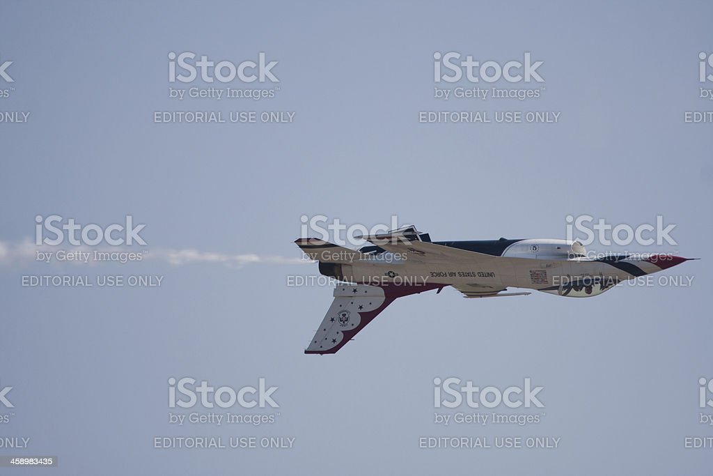Thunderbird Upside Down stock photo