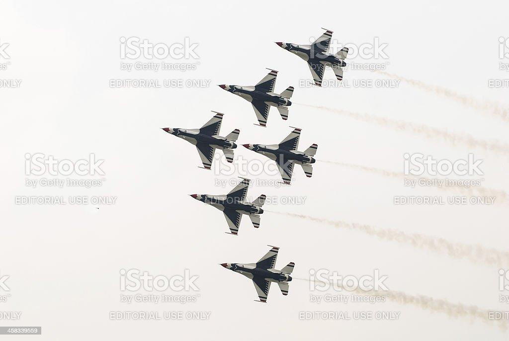 Thunderbirds (US Air Force) stock photo