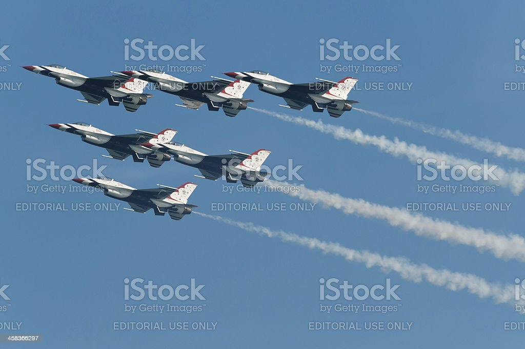 Thunderbirds royalty-free stock photo