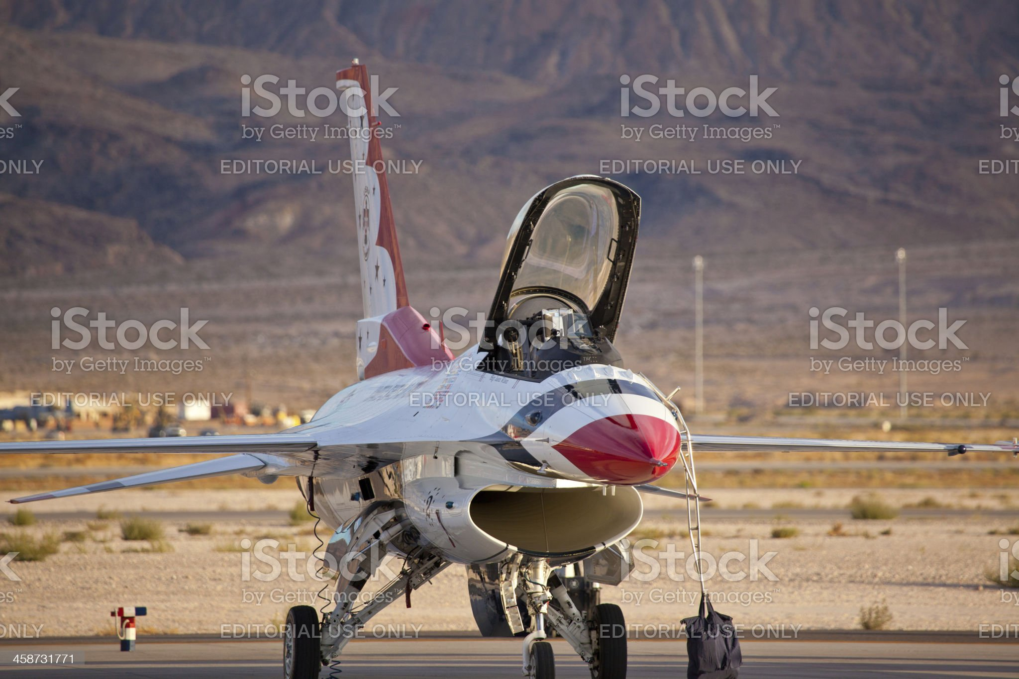 USAF Thunderbirds royalty-free stock photo
