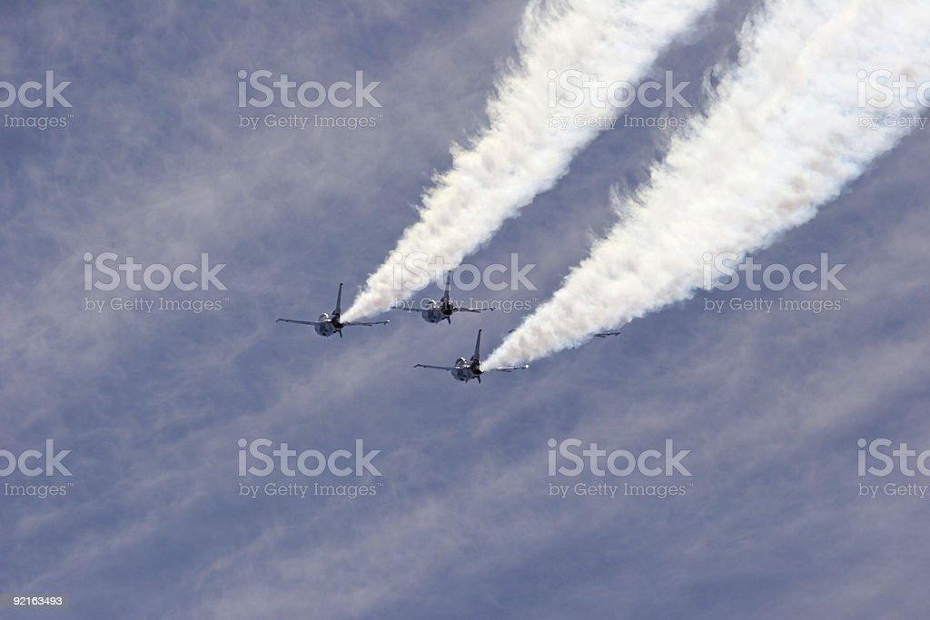 Thunderbirds royalty-free stock photo