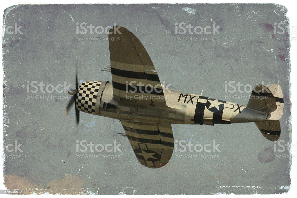 Thunderbolt P-47 royalty-free stock photo
