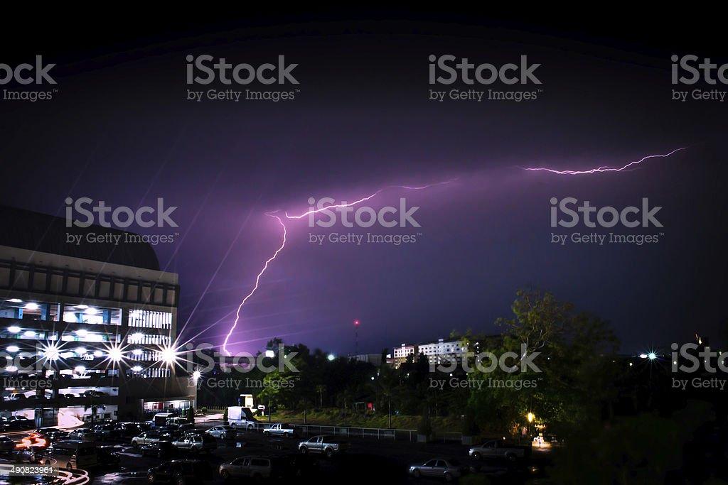 thunderbolt stock photo