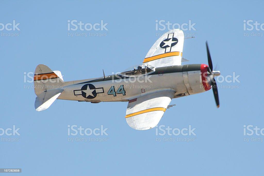 P-47 'Thunderbolt' Warplane royalty-free stock photo