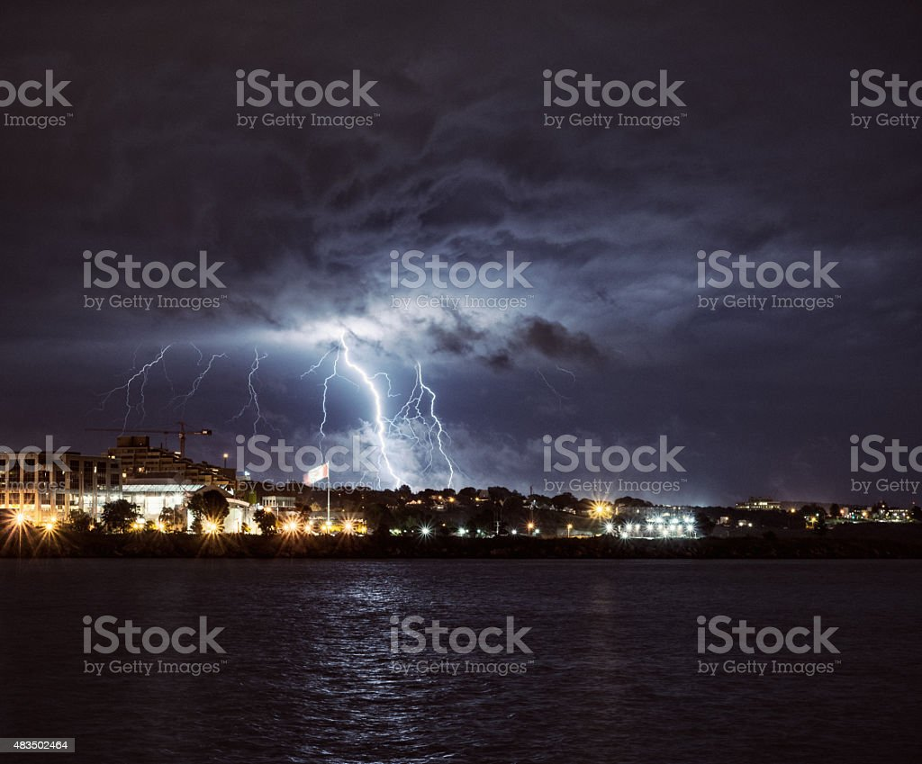 Thunderbolts and Lightning stock photo