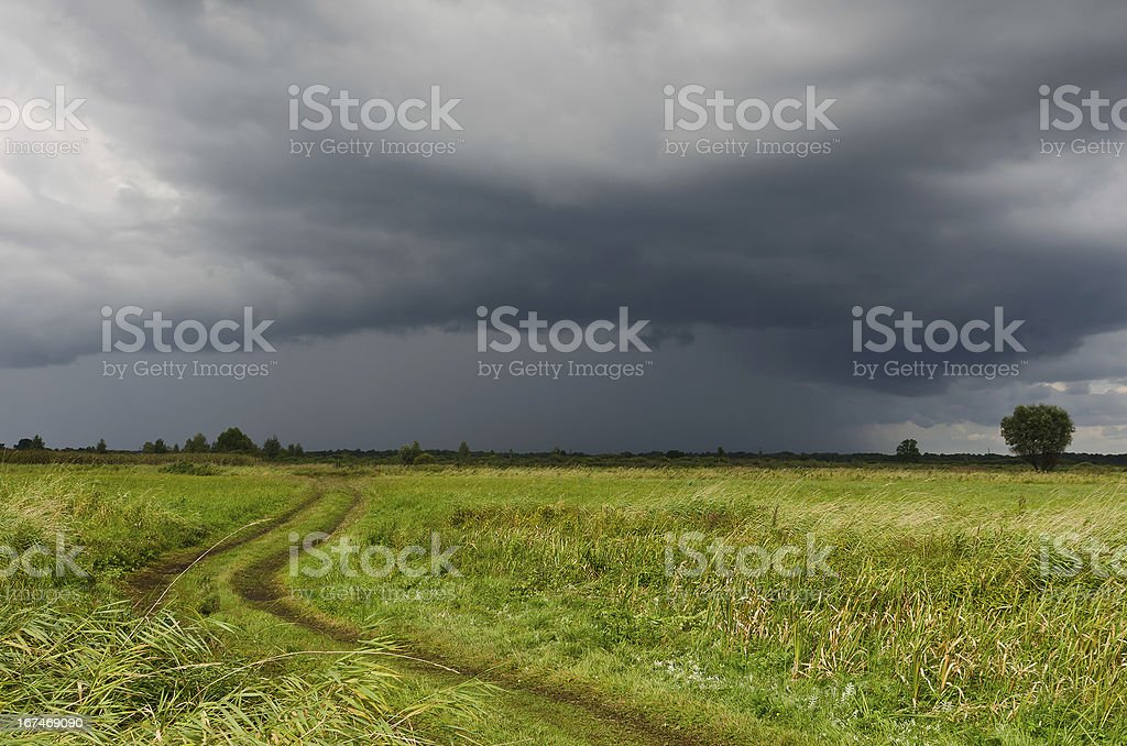 thundercloud royalty-free stock photo
