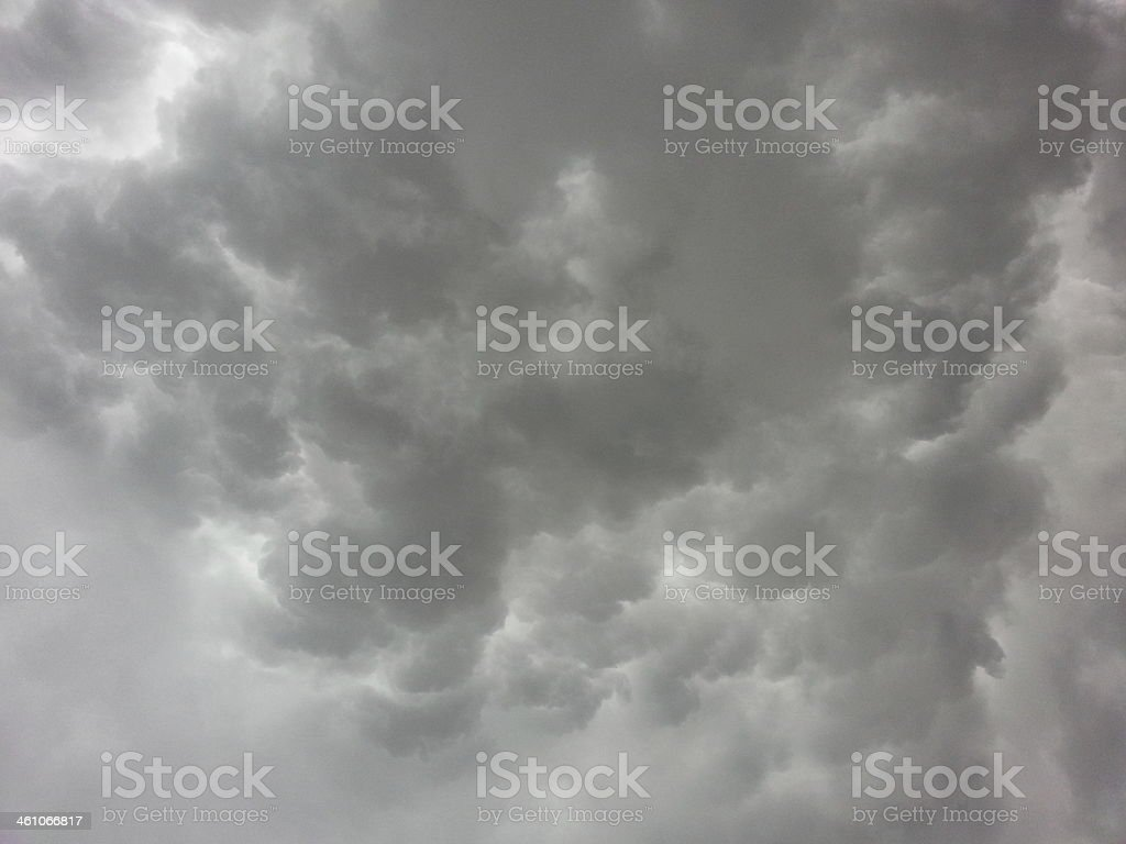 Gewitterwolke stock photo