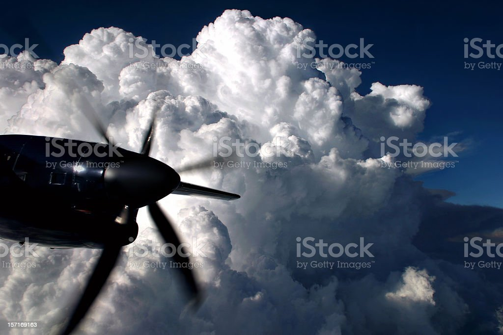 Thunderhead royalty-free stock photo