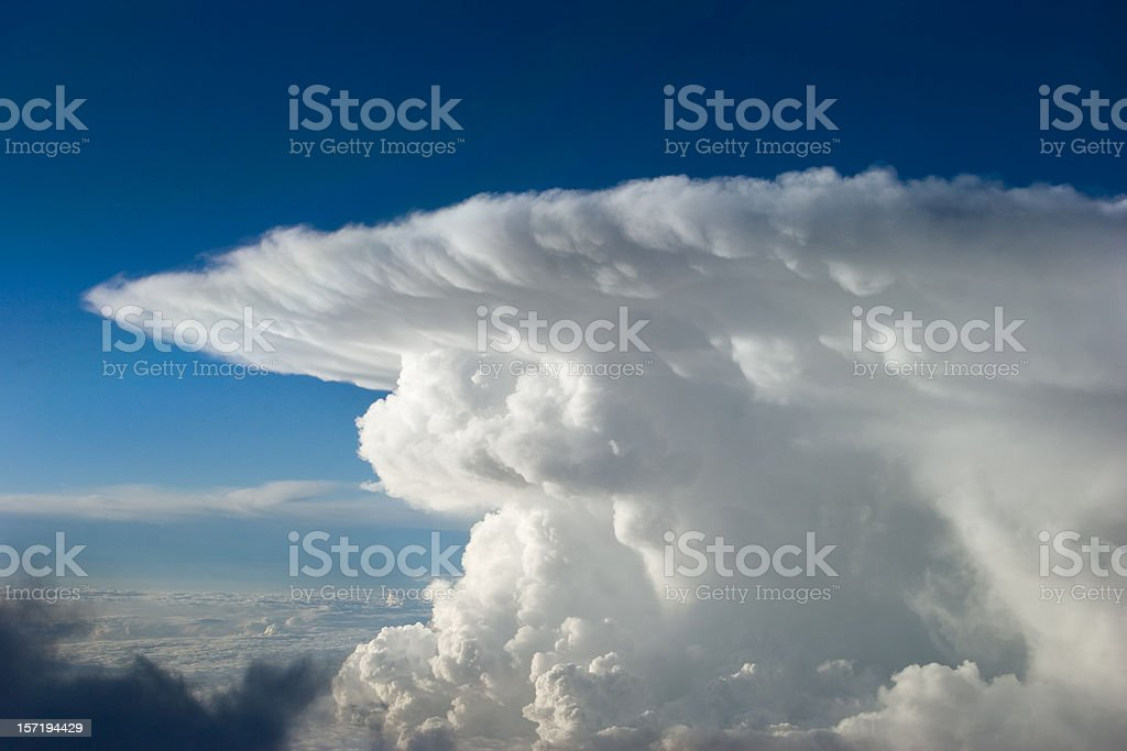 Thunderhead stock photo