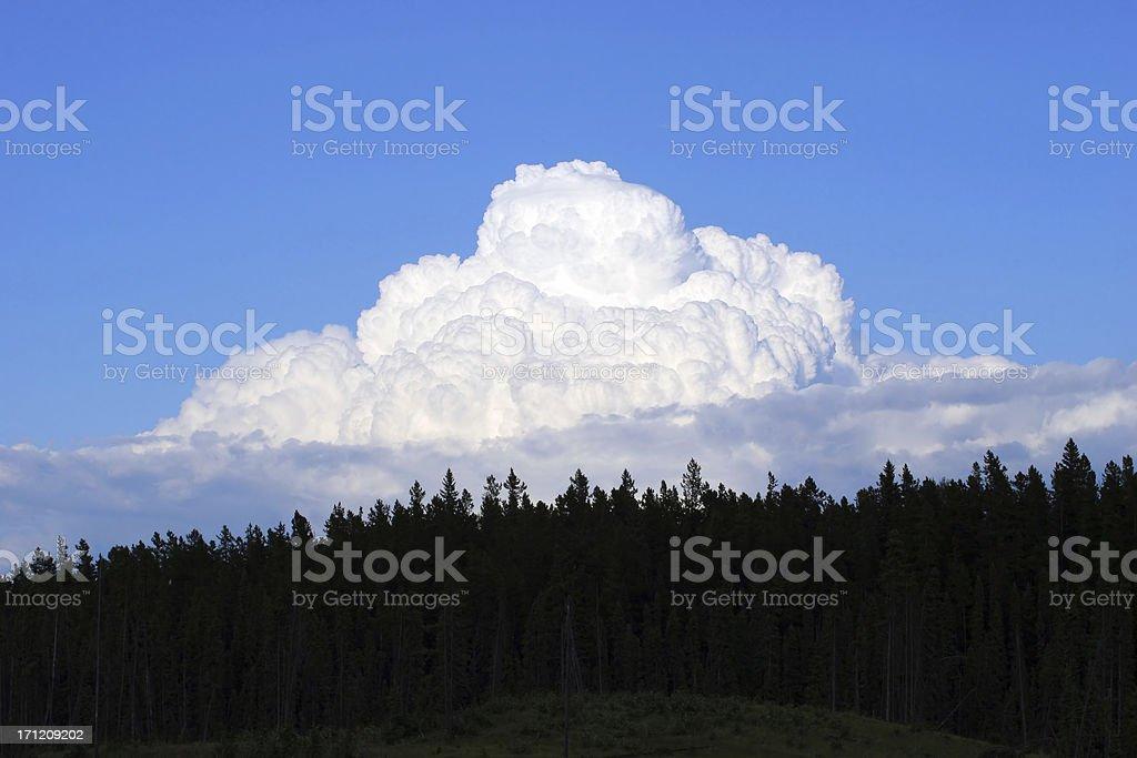 Thunderhead (Series-two) stock photo