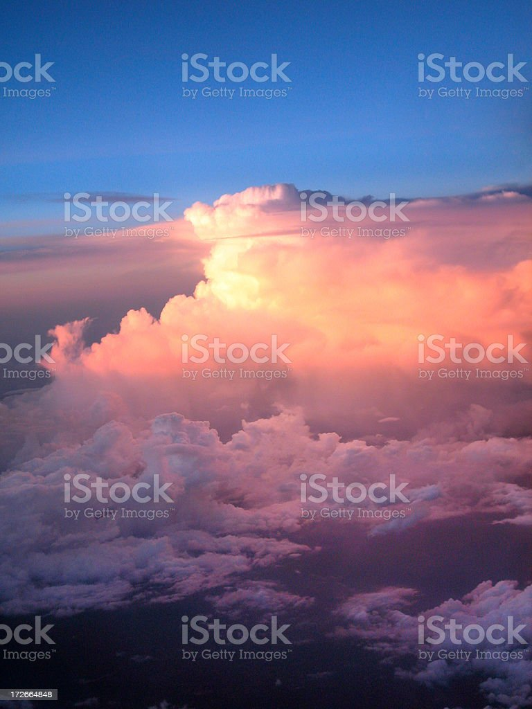 Thunderhead Stormcloud royalty-free stock photo