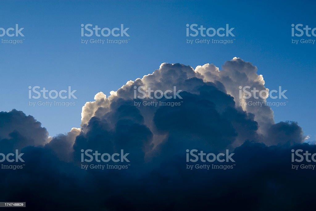 Thunderheads royalty-free stock photo