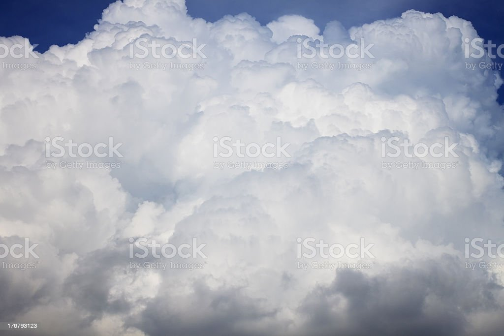 Thunderstorm Clouds royalty-free stock photo