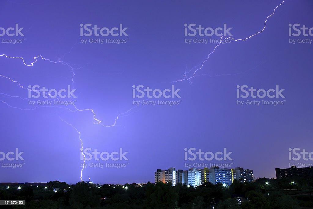 Thunderstorm. royalty-free stock photo