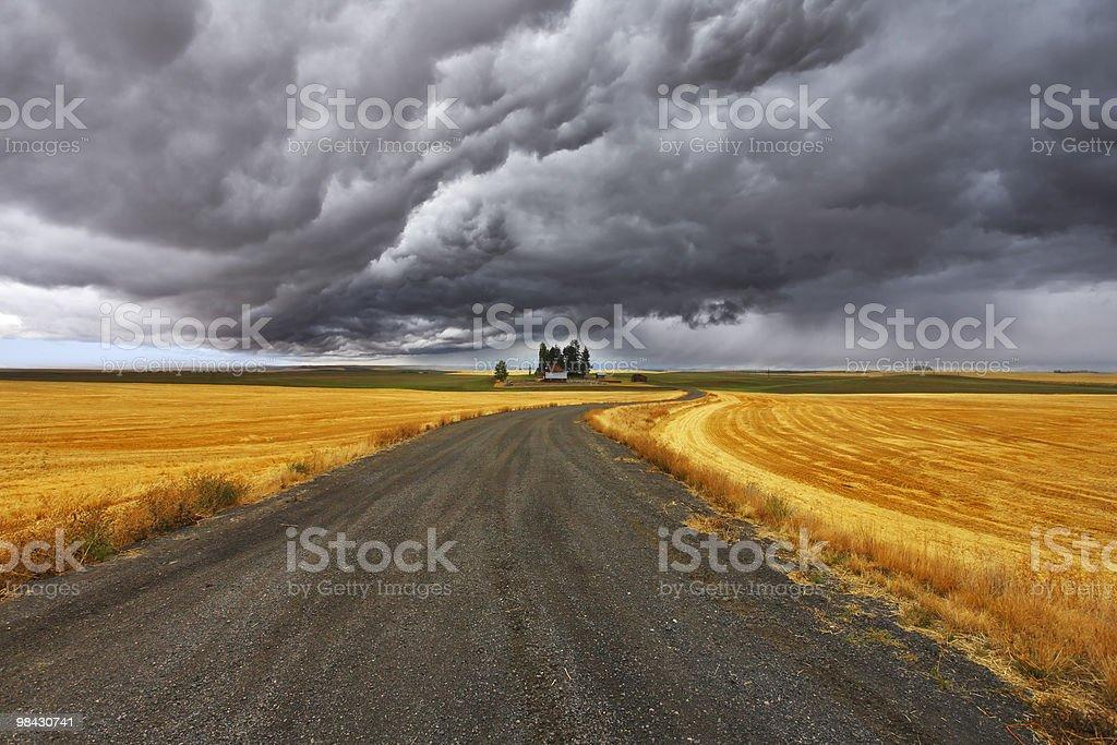 Thunder-storm royalty-free stock photo