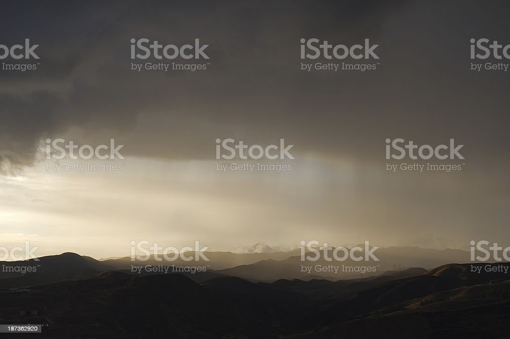 Thunderstorm Rain Weather Landscape