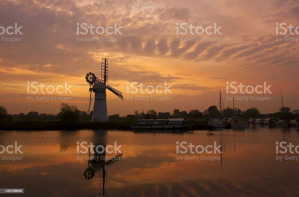 Thurne royalty-free stock photo