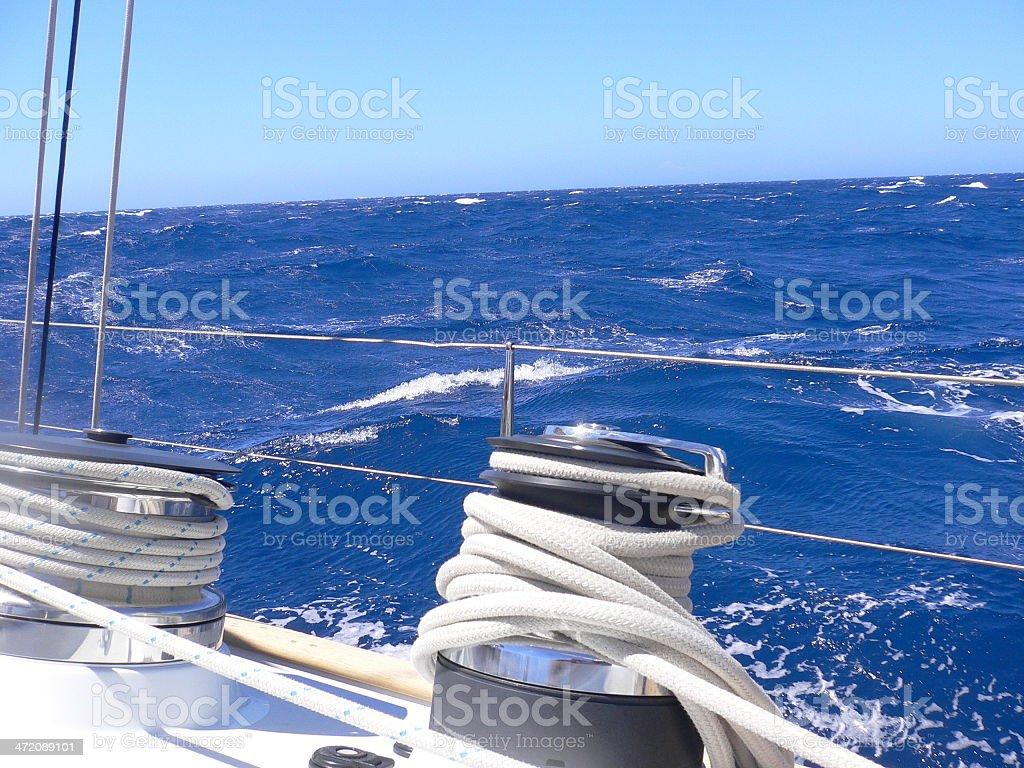 Thyrrenian sea stock photo