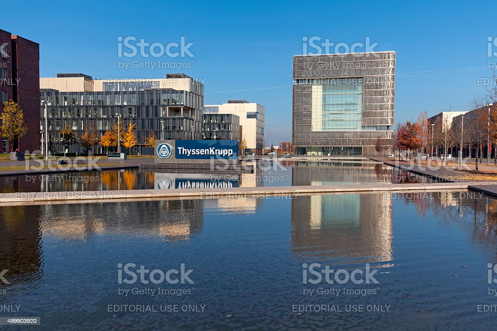 ThyssenKrupp Quartier stock photo