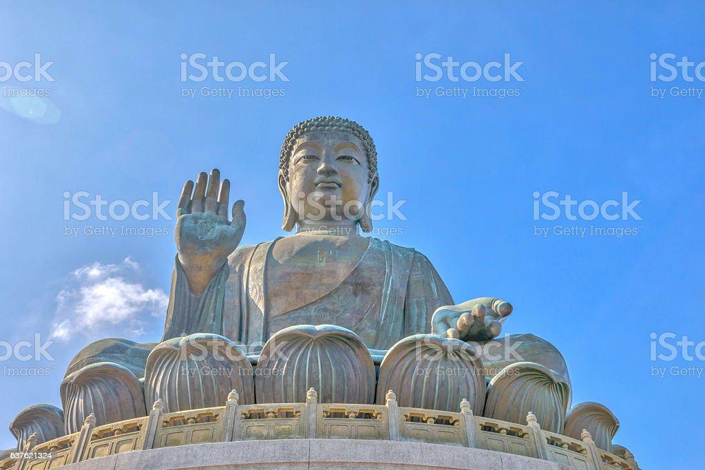 Tian Tan Buddha Lantau stock photo