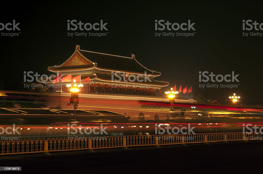 Tiananmen Gate of Heavenly Peace Beijing royalty-free stock photo