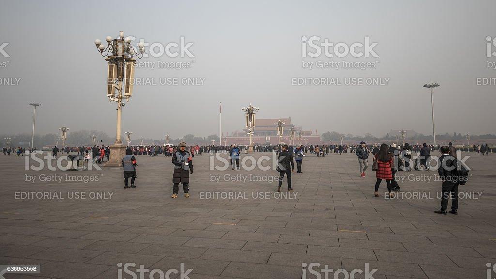 Tian'anmen Square, Beijing, China stock photo