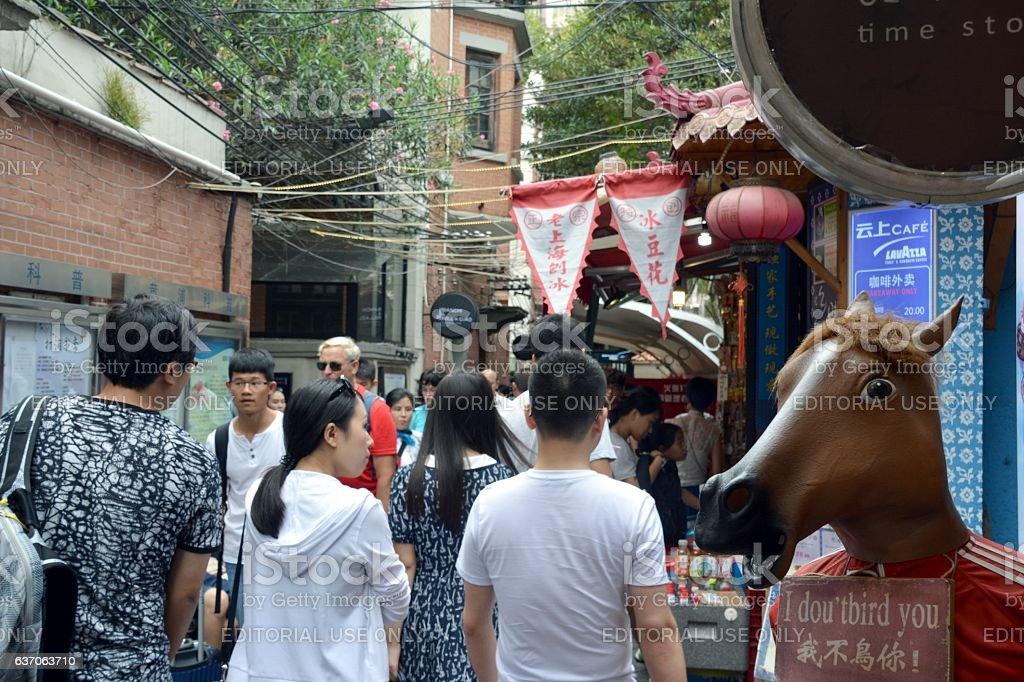 Tianzifang, Shanghai, China stock photo