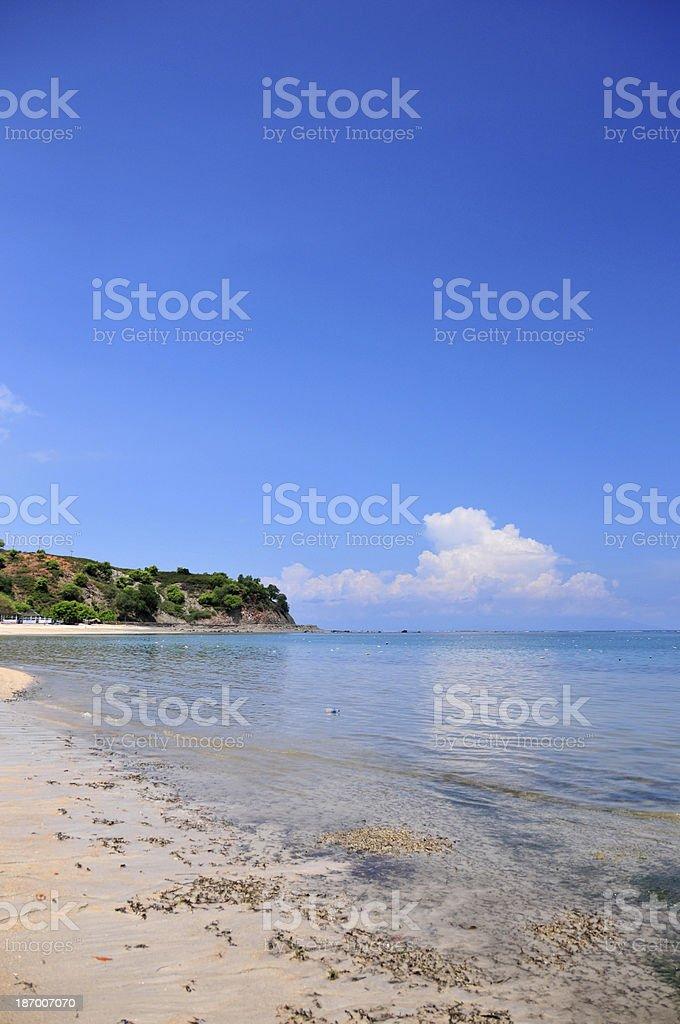Tibar Bay, East Timor: beach stock photo