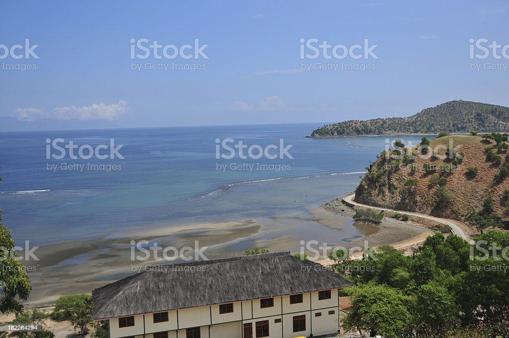 Tibar bay, East Timor stock photo