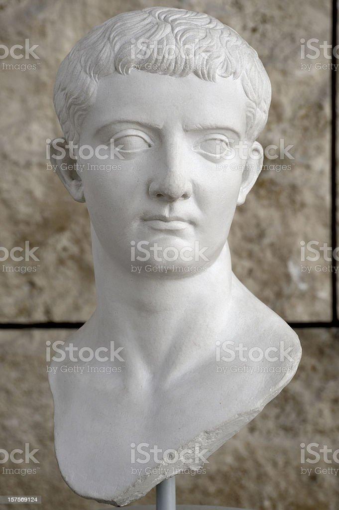 Tiberius royalty-free stock photo